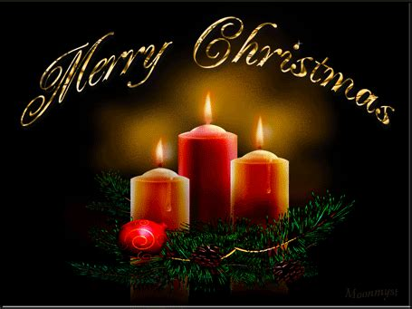 merry christmas candles advent