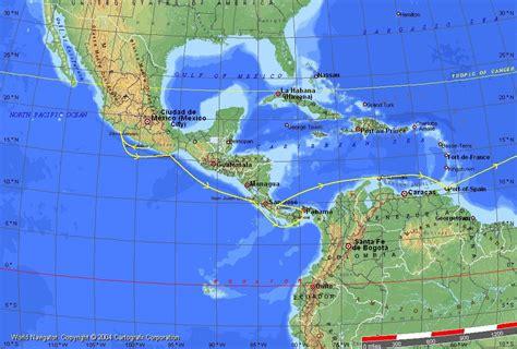 latitude map america mexico map with latitude and longitude