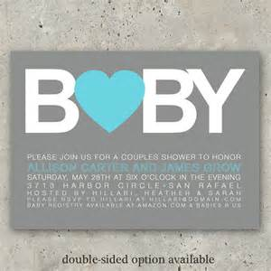 baby shower invitations boy or big baby by minkcards on etsy