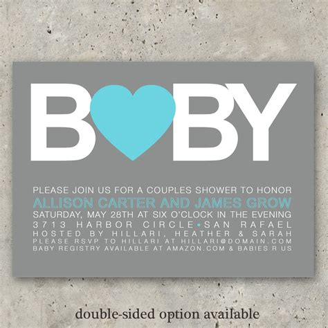 Baby Shower Invitations by Baby Shower Invitations Boy Or Big Baby By Minkcards