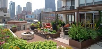 Patio Designs Chicago Rooftop Gardens Ancient Idea Modern Benefits Modern