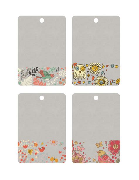printable tags cute free printables archives page 4 of 5 the graffical muse