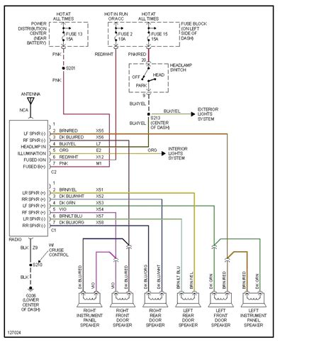 dodge dakota radio wiring diagram 33 wiring diagram