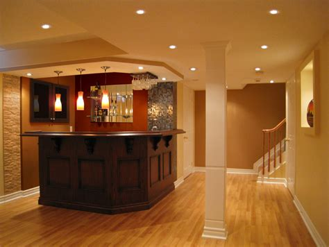 Basement Finishing 4 Weeks Basement Bar Design Ideas Pictures