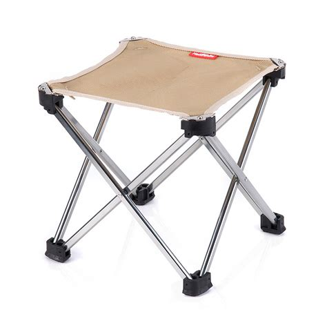Folding Stool Naturehike Outdoor Aluminium Alloy Fishing Chair Folding
