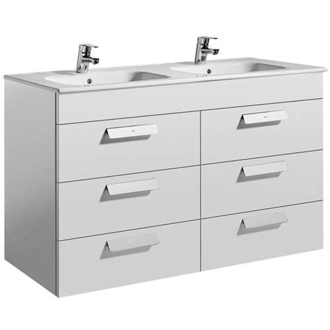 roca debba basin vanity unit with drawers uk