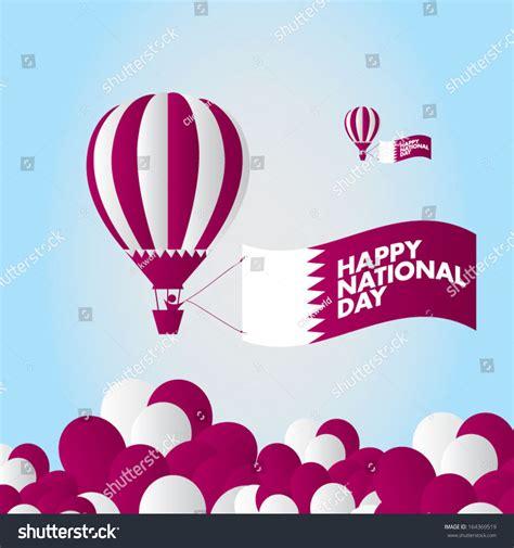 qatar national day qatar national day stock vector 164369519