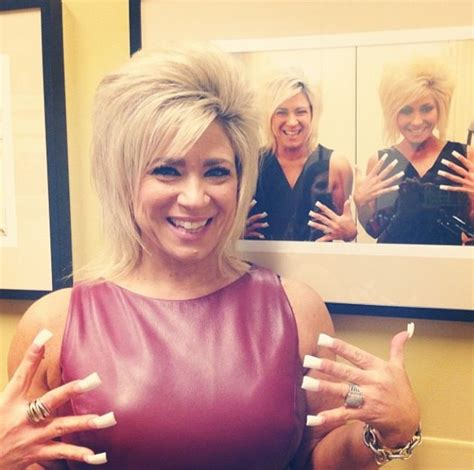 theresa caputo fingernails 17 best images about nails on pinterest acrylic french