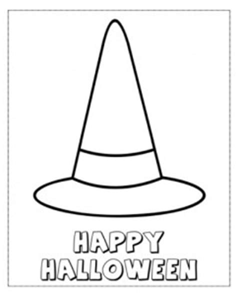 Witch Hat Coloring Page Happy Halloween Witches Hat Color Page Halloween Movies by Witch Hat Coloring Page