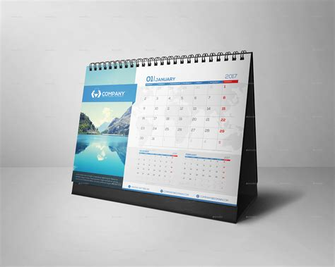 desk calendar 2017 v 01 by design jow graphicriver
