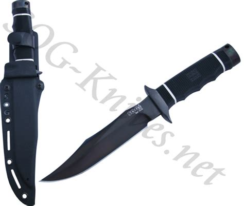 sog bowie knives sog tech bowie black tini knife s10b