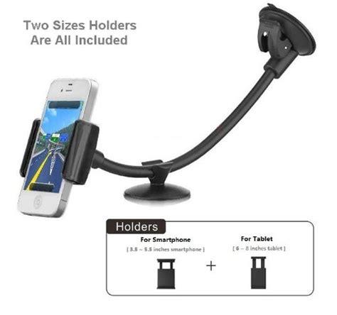 Monocozzi Mount Holder Dashboard 3 Adjustable Arm For Smartphones 21 abovetek arm universal car phone mount holder windshield dashboard smartphone cradle
