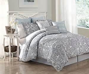 amazon com 9 piece cal king luxe 100 cotton comforter