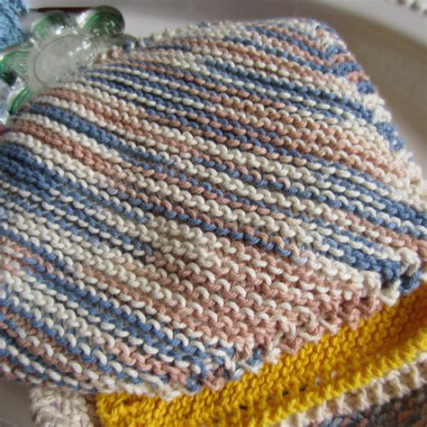 cotton yarn for knitting dishcloths rainy day washcloth allfreeknitting plus a