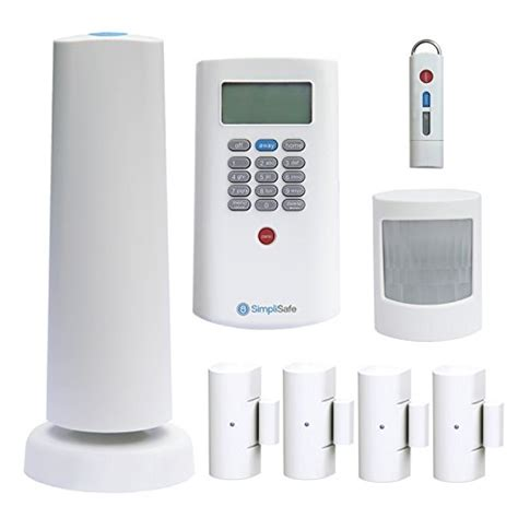 cellular home security simplisafe2 wireless home security system 8 plus
