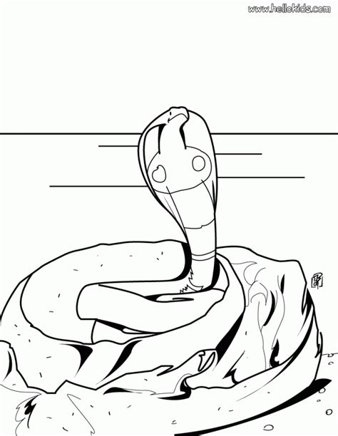 Gw 244 J Color Changing Ponny Set realistic snake coloring pages coloring home