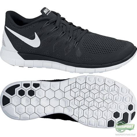 free run shoe nike free running shoe 5 0 black white www