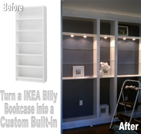 Nadia S Diy Projects Turn An Ikea Billy Bookcase Into A Diy Custom Bookshelves