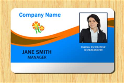 student id card template photoshop employee id template 2 other files patterns and templates