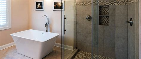 Glass Shower Door Installation Michigan Frameless Bathroom Glass Door Installation