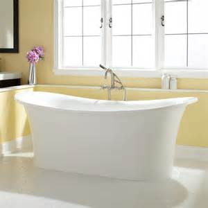 Bathroom Freestanding Tubs 72 Quot Shai Bateau Acrylic Freestanding Tub Bathroom