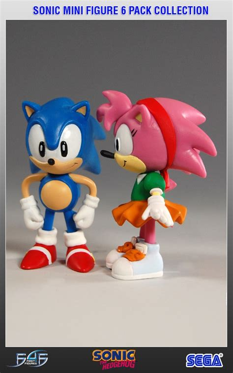 figure 6 pack sonic mini figure 6 pack collection