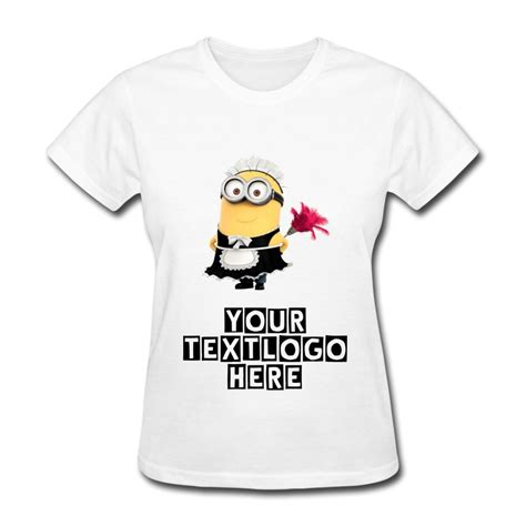 design your own custom personalized shirts despicable me 2 minions jerry doing cleaning tshirt women