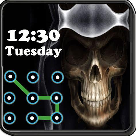 Skull Pattern Lock Screen | amazon com skull pattern screen lock appstore for android