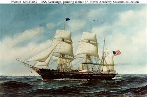 cvs sinking pa usn ships uss kearsarge 1862 1894