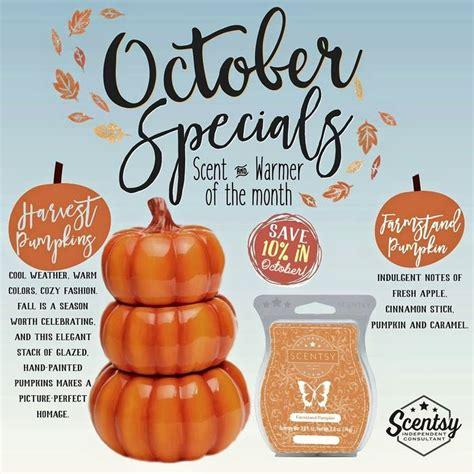 Paket October Special 18 scentsy october special new warmer harvest pumkins