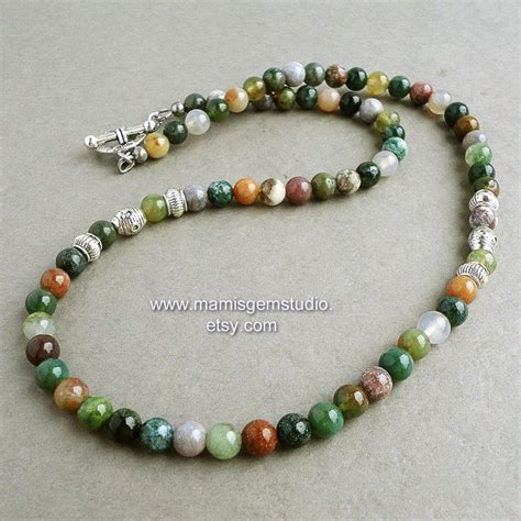 Etsy Handmade Beaded Jewelry - 25 best ideas about mens beaded necklaces on