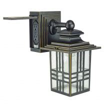 outdoor light fixture with power outlet outdoor lighting fixtures lighting l image home products