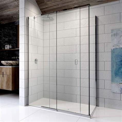 Kudos Pinnacle 8 Sliding Shower Door For Corner Uk Bathrooms Shower Door Uk