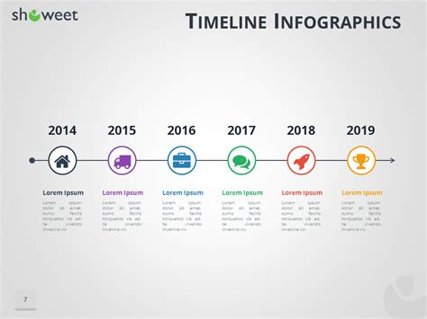 editable timeline template powerpoint free powerpoint templates