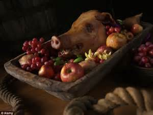 Main Dish For Christmas Dinner - chef s mulled swine could be answer for hard up families as price of christmas dinner soars