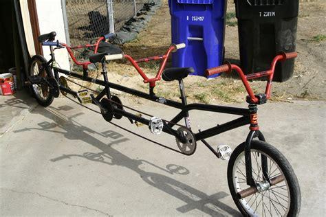 3 seater bmx bike trandum pedal room