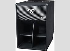 AB-36C CERWIN VEGA FOLDED HORN SERIES SPEAKERS SUBWOOFERS Empty Box Weight