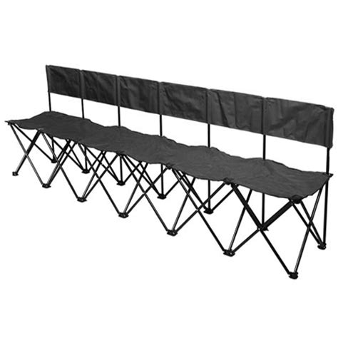soccer benches portable bag a bench 6 seat portable sideline soccer bench