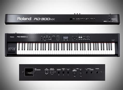 Keyboard Roland Rd300nx Pianotech Boutique Roland Rd300nx