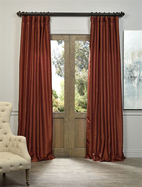 burnt orange curtains 25 best ideas about burnt orange curtains on pinterest