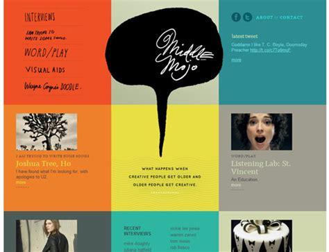 grid layout website inspiration showcase of colorful grid style website designs designbeep