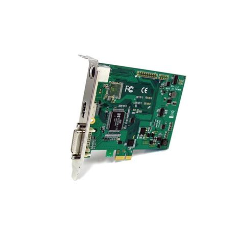 Vga Express Card hd capture card pci express hdmi dvi vga and component hd capture card startech