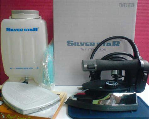 Setrika Uap Listrik Silver Es300 Es 300 1000 Watt 2 Liter Laund setrika uap silverstar es 300