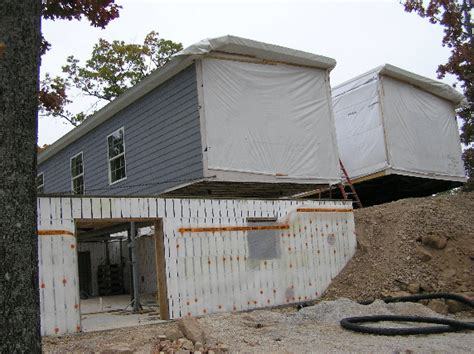 modular home modular homes basement foundation prefab