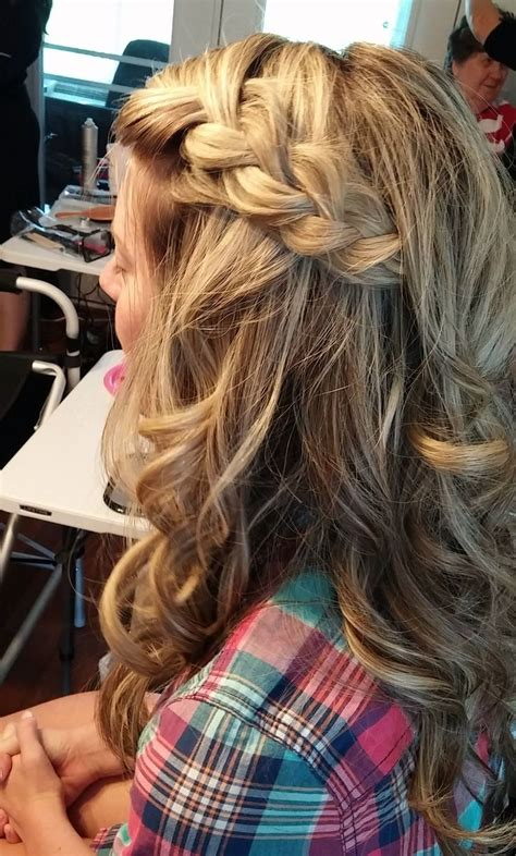 southern haircuts for women cute braided bridesmaid hairstyle by jenna beth southern