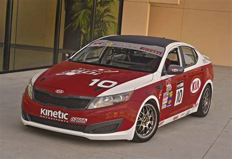 Kia Optima Racing Kia Optima Sx World Challenge Race Cars At La Show