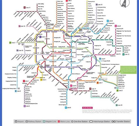 shanghai metro map shanghai metro map map travel vacations