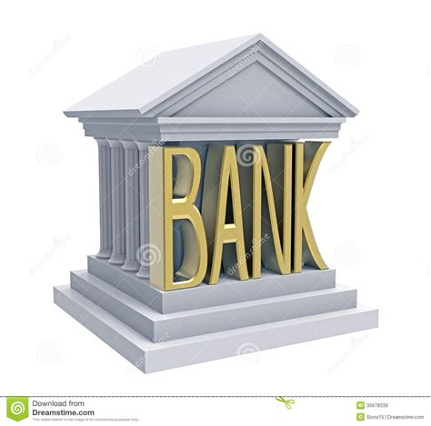 de bank bank building royalty free stock images image 35678339
