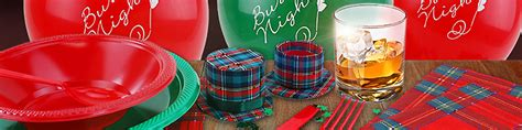 themed party nights scotland burns night party scottish party supplies party delights