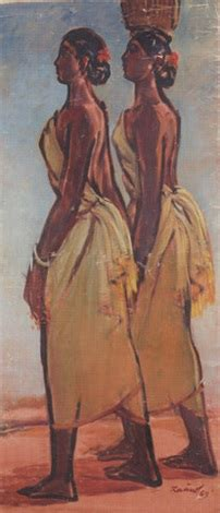 biography of artist zainul abedin santhal women by zainul abedin on artnet